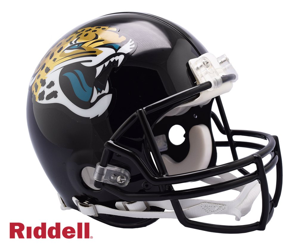 JACKSONVILLE JAGUARS CURRENT STYLE VSR4 AUTHENTIC HELMET