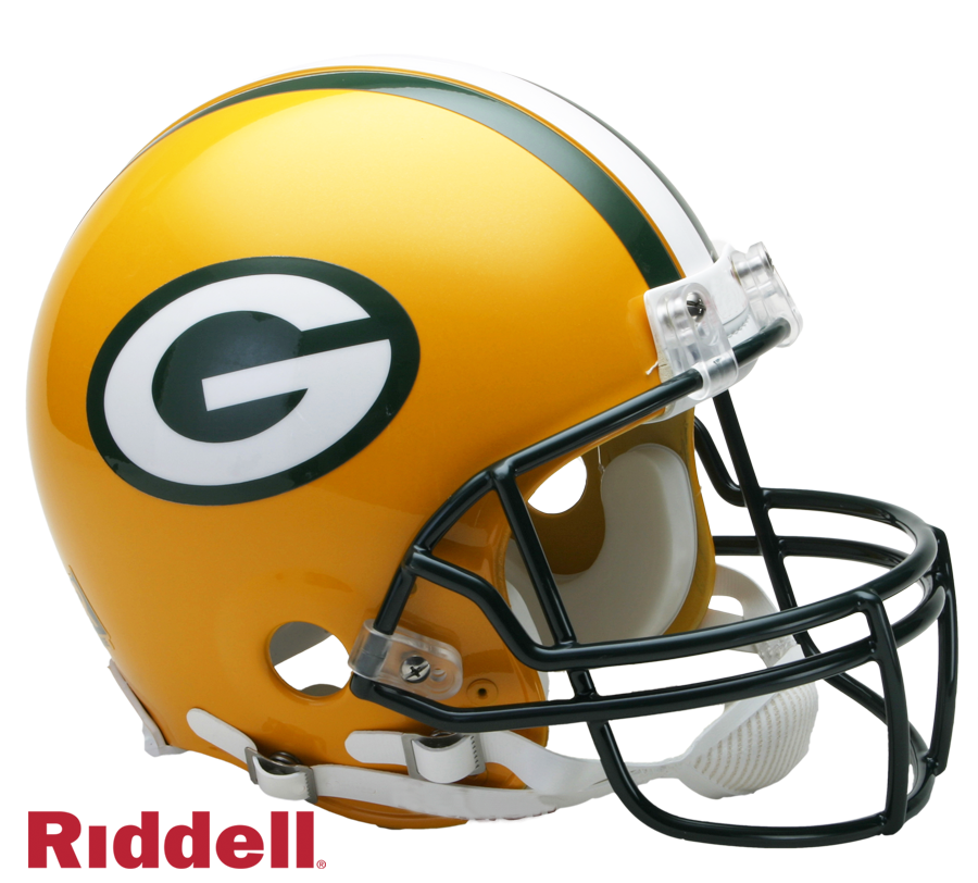 GREEN BAY PACKERS CURRENT STYLE VSR4 AUTHENTIC HELMET