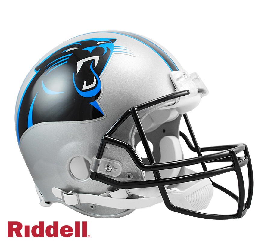 CAROLINA PANTHERS CURRENT STYLE VSR4 AUTHENTIC HELMET
