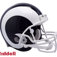 LOS ANGELES RAMS CURRENT STYLE VSR4 AUTHENTIC HELMET