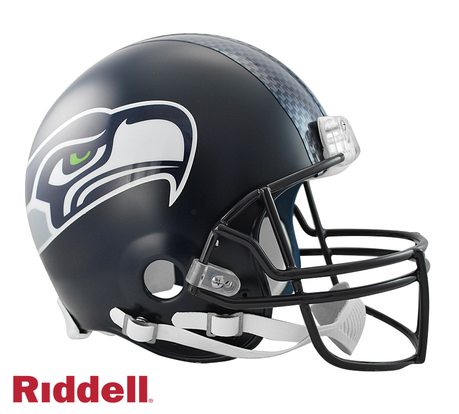 SEATTLE SEAHAWKS CURRENT STYLE VSR4 AUTHENTIC HELMET