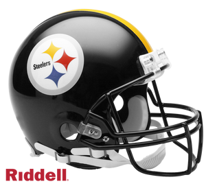 PITTSBURGH STEELERS CURRENT STYLE VSR4 AUTHENTIC HELMET
