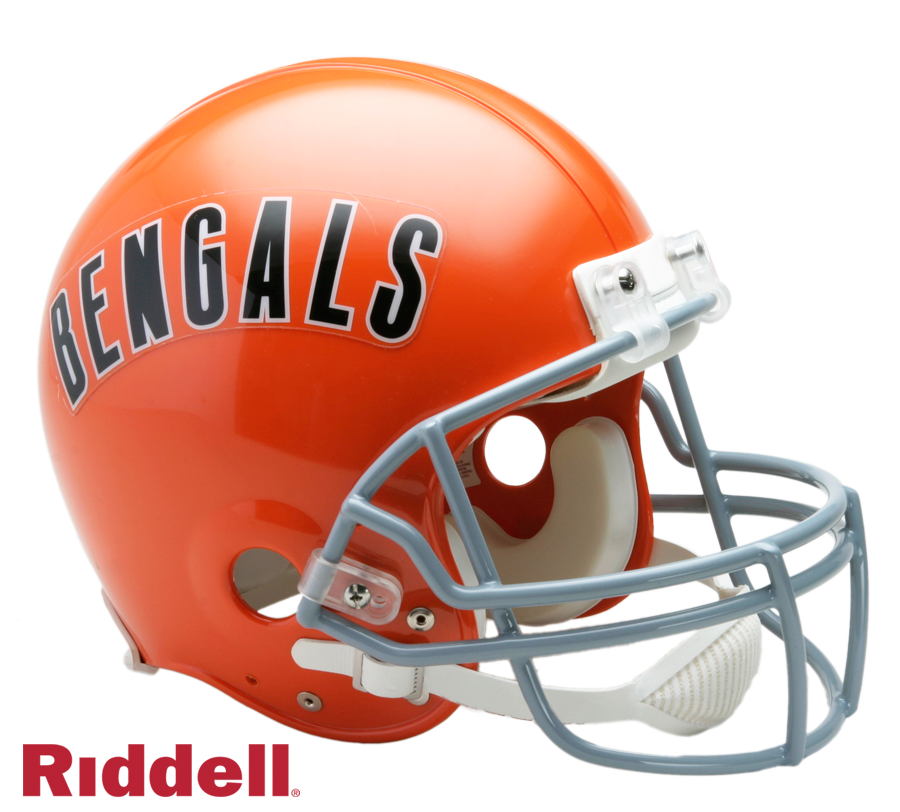 CINCINNATI BENGALS 1968-79 THROWBACK VSR4 AUTHENTIC HELMET