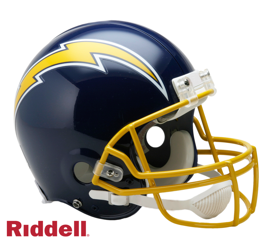 SAN DIEGO CHARGERS 1974-87 THROWBACK VSR4 AUTHENTIC HELMET