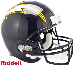 SAN DIEGO CHARGERS 1988-06 THROWBACK VSR4 AUTHENTIC HELMET