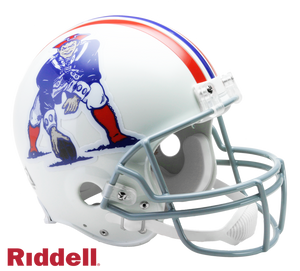 NEW ENGLAND PATRIOTS 1965-81 THROWBACK VSR4 AUTHENTIC HELMET