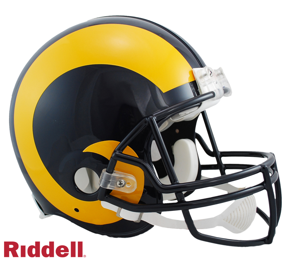 LOS ANGELES RAMS 1981-99 THROWBACK VSR4 AUTHENTIC HELMET