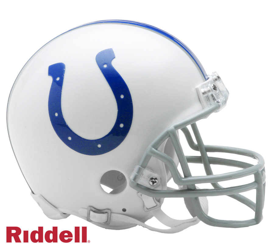 INDIANAPOLIS COLTS 2004-19 THROWBACK VSR4 MINI HELMET