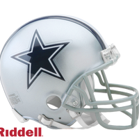 DALLAS COWBOYS CURRENT STYLE VSR4 MINI HELMET