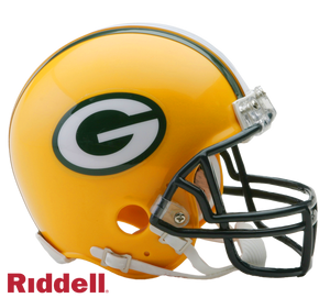 GREEN BAY PACKERS CURRENT STYLE VSR4 MINI HELMET