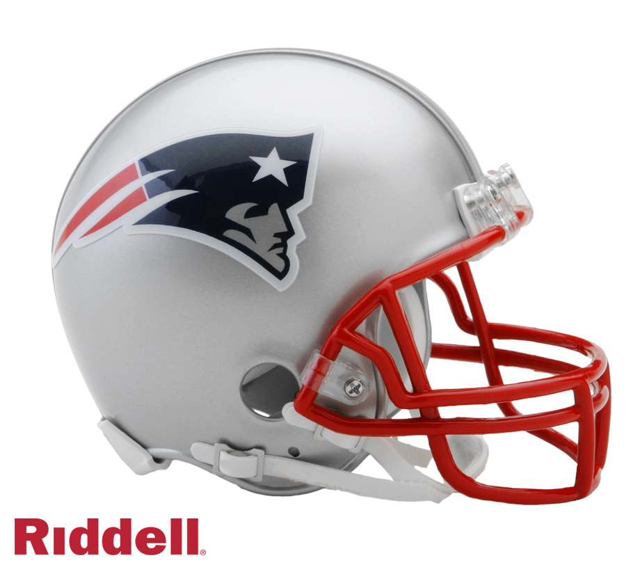NEW ENGLAND PATRIOTS CURRENT STYLE VSR4 MINI HELMET