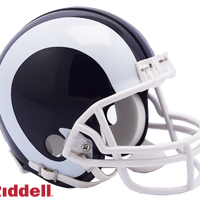 LOS ANGELES RAMS CURRENT STYLE VSR4 MINI HELMET