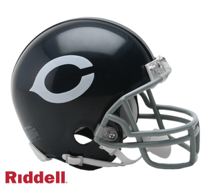 CHICAGO BEARS 1962-73 THROWBACK VSR4 MINI HELMET