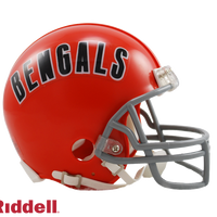 CINCINNATI BENGALS 1968-79 THROWBACK VSR4 MINI HELMET