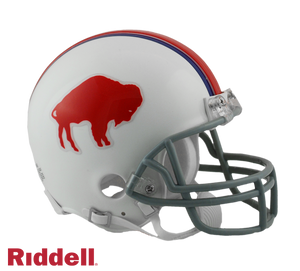 BUFFALO BILLS 1965-73 THROWBACK VSR4 MINI HELMET