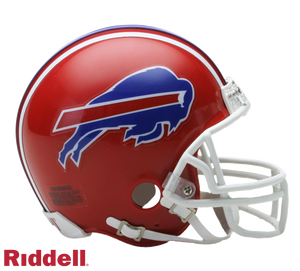 BUFFALO BILLS 1987-01 THROWBACK VSR4 MINI HELMET
