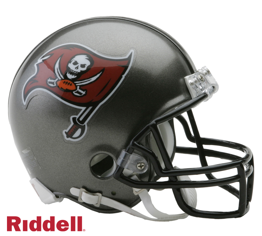 TAMPA BAY BUCCANEERS 1997-13 THROWBACK VSR4 MINI HELMET