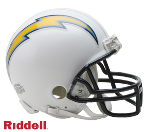 SAN DIEGO CHARGERS 2007-18 THROWBACK VSR4 MINI HELMET
