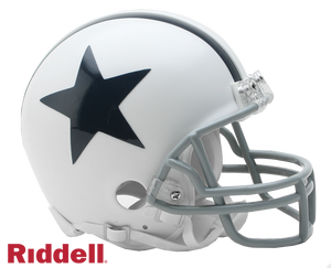 DALLAS COWBOYS 1960-63 THROWBACK VSR4 MINI HELMET