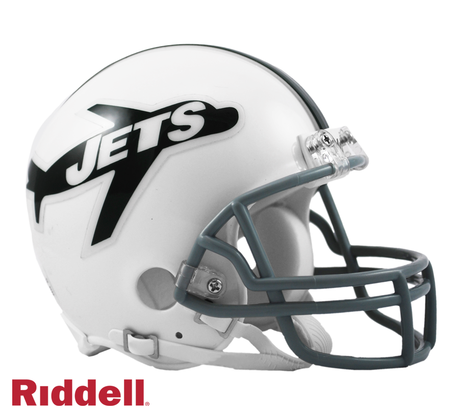NEW YORK JETS 1963 THROWBACK VSR4 MINI HELMET
