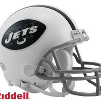 NEW YORK JETS 1965-77 THROWBACK VSR4 MINI HELMET