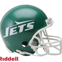 NEW YORK JETS 1978-89 THROWBACK VSR4 MINI HELMET