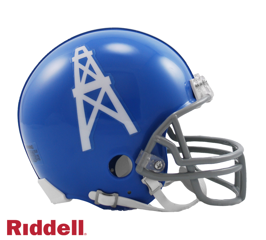 HOUSTON OILERS 1960-62 THROWBACK VSR4 MINI HELMET