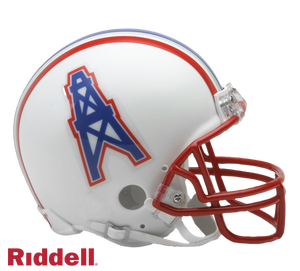 HOUSTON OILERS 1981-96 THROWBACK VSR4 MINI HELMET