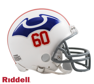 NEW ENGLAND PATRIOTS 1960 THROWBACK VSR4 MINI HELMET