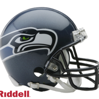 SEATTLE SEAHAWKS 2002-11 THROWBACK VSR4 MINI HELMET