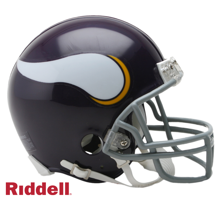 MINNESOTA VIKINGS 1961-79 THROWBACK VSR4 MINI HELMET