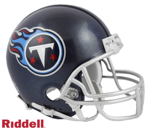 TENNESSEE TITANS CURRENT STYLE VSR4 MINI HELMET