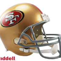 SAN FRANCISCO 49ERS CURRENT STYLE VSR4 REPLICA HELMET