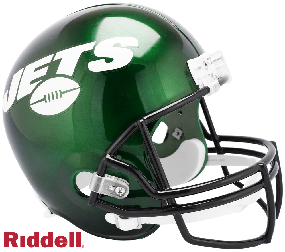 NEW YORK JETS CURRENT STYLE VSR4 REPLICA HELMET