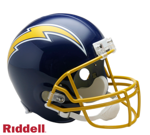 SAN DIEGO CHARGERS 1974-87 THROWBACK VSR4 REPLICA HELMET