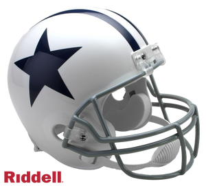 DALLAS COWBOYS 1960-63 THROWBACK VSR4 REPLICA HELMET