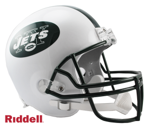 NEW YORK JETS 1998-18 THROWBACK VSR4 REPLICA HELMET