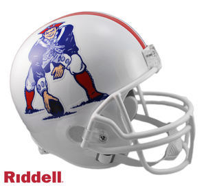 NEW ENGLAND PATRIOTS 1982-89 THROWBACK VSR4 REPLICA HELMET