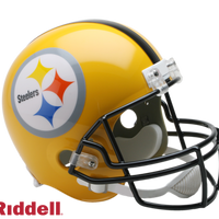 PITTSBURGH STEELERS 2007 75TH ANNIVERSARY THROWBACK VSR4 REPLICA HELMET
