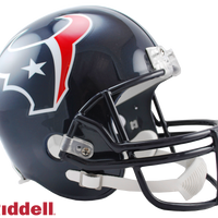 HOUSTON TEXANS CURRENT STYLE VSR4 REPLICA HELMET