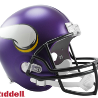 MINNESOTA VIKINGS CURRENT STYLE VSR4 REPLICA HELMET