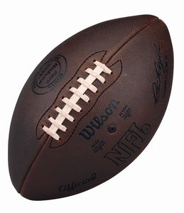 NFL ON-FIELD FOOTBALL 1960'S AUTHENTIC DUKE NFL GAME BALL