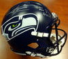 "Russell Wilson Autographed Seattle Seahawks Full Size Speed Helmet ""SB XLVIII Champs, SEA 43 DEN 8, 2/2/14"" Limited Edition #/48 RW Holo Stock #105818"