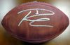 Russell Wilson Autographed Super Bowl NFL Leather Football RW Holo