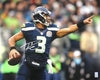 Russell Wilson Autographed 16x20 Photo Seattle Seahawks RW Holo Stock #91024