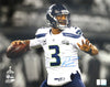Russell Wilson Autographed Seattle Seahawks Super Bowl 16x20 Photo RW Holo ID #74644