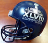 Russell Wilson Autographed Seattle Seahawks Super Bowl XLVIII Full Size Helmet In Green RW Holo Stock #104263