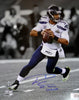 "Russell Wilson Autographed 16x20 Photo Seattle Seahawks Super Bowl ""SB XLVIII Champs"" RW Holo Stock #105131"