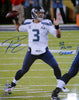 "Russell Wilson Autographed 16x20 Photo Seattle Seahawks Super Bowl ""SB XLVIII Champs"" RW Holo Stock #105130"