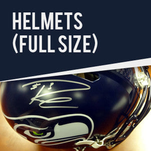 Shop Russell Wilson Autographed Helmets